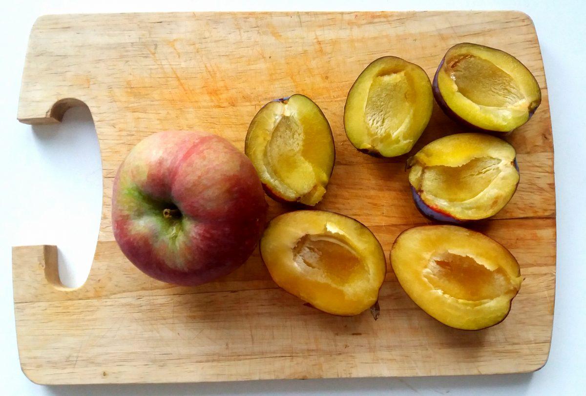 jaglanka śliwkowo- jabłkowa mali silacze