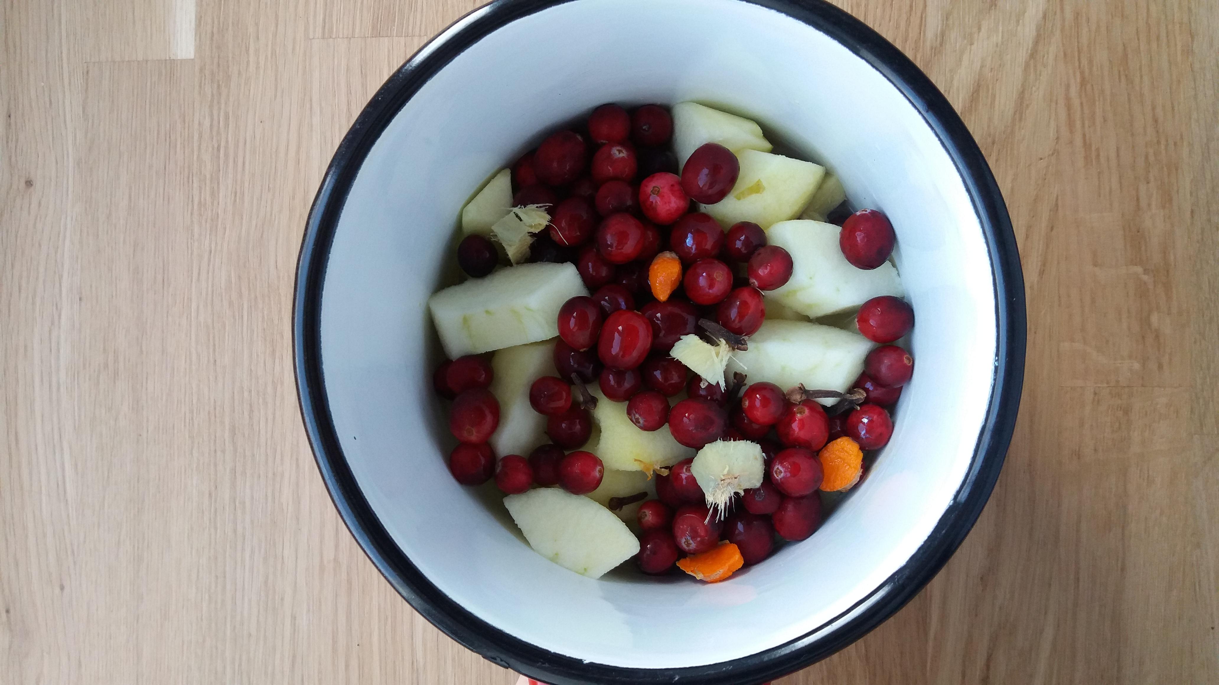 jabłka z żurawiną 1 mali silacze
