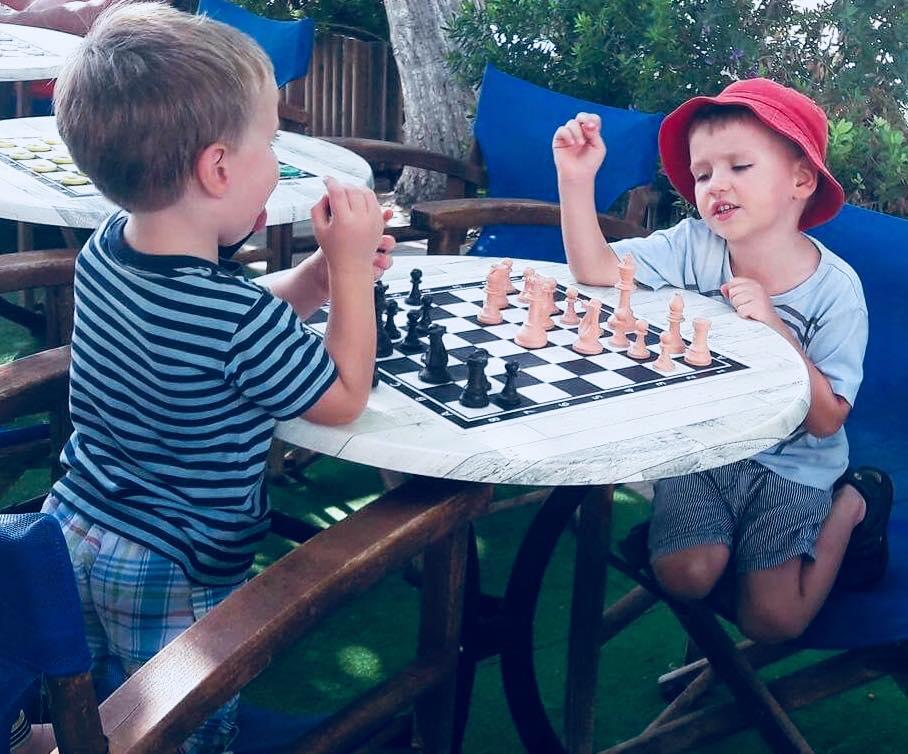 szach mat mali siłacze